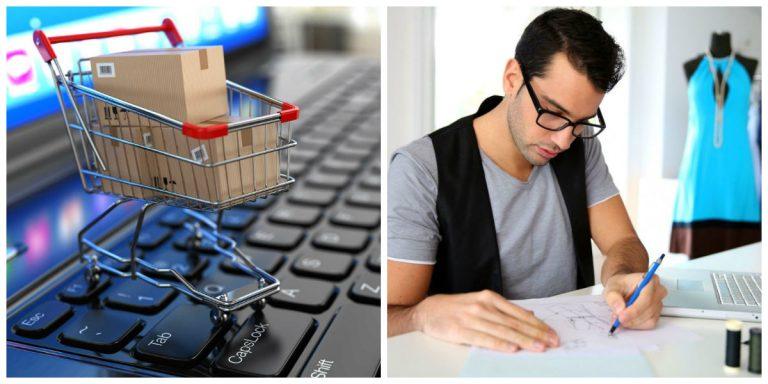 Las tiendas de moda utilizan internet para vender sus marcas